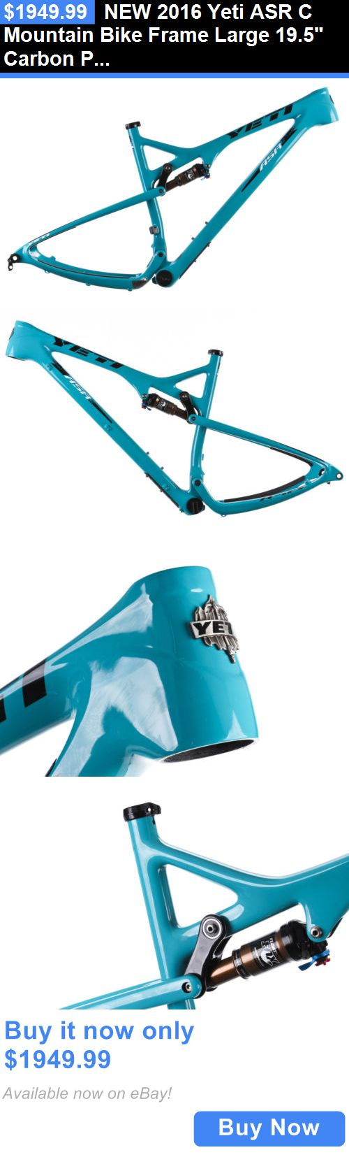 bicycle parts: New 2016 Yeti Asr C Mountain Bike Frame Large 19.5 Carbon Pf30 Fox Float 12X142 BUY IT NOW ONLY: $1949.99