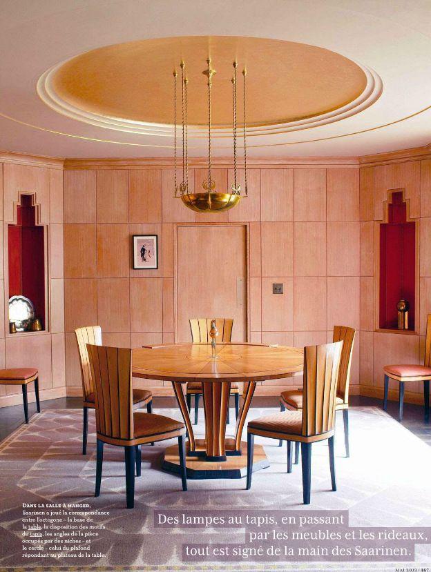 art deco style dining room art deco decor style pinterest