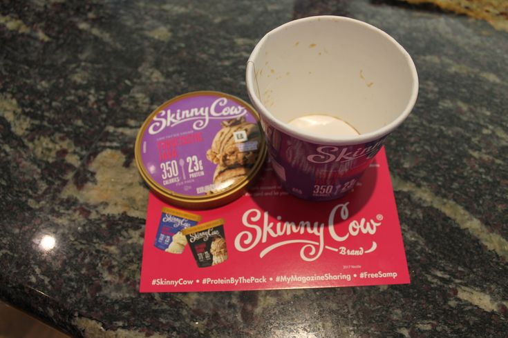 The new Skinny Cow ice cream really hits the spot! #SkinnyCow #FreeSamp #ProteinByThePack #MyMagazineSharing