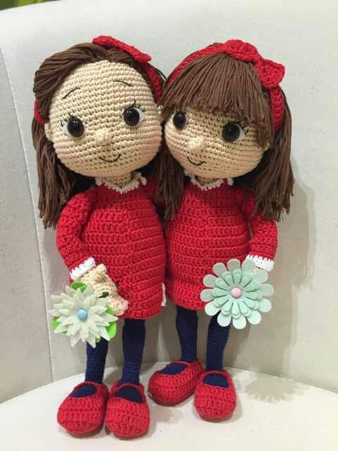 Crochet doll, no pattern