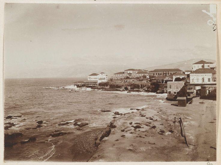 L. Heldring | Gezicht op Beiroet, Libanon, L. Heldring, 1898 |