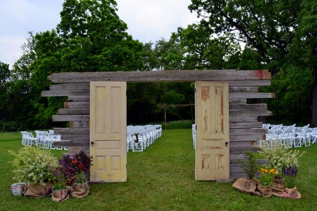 outdoor orchard weddings   ... outdoor ceremony. We love the dramatic statement of free-standing