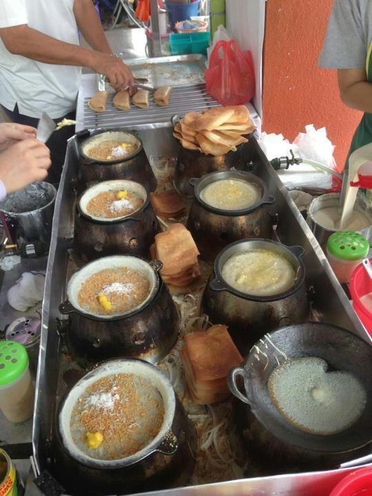 Sweet dessert Apam Balik