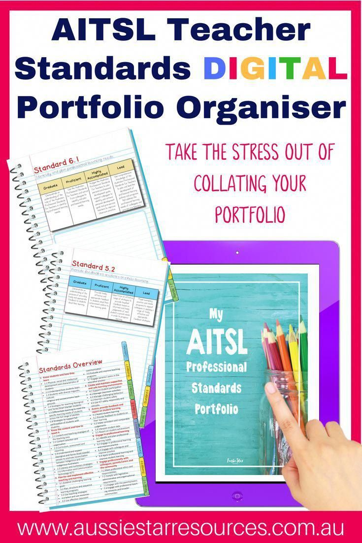 AITSL Teaching Standards Portfolio in 2020 (With images