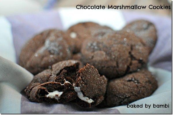 Chocolate Marshmallow Cookies | Bambi