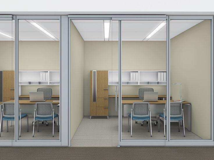 allsteel office furniture revit. allsteel framed glass beyond movable walls office furniture revit w