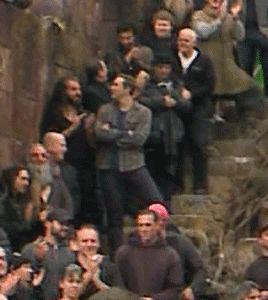 Lee Pace & Richard Armitage on The Hobbit set