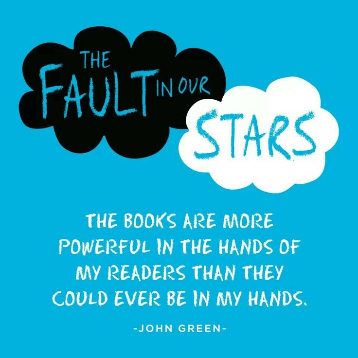 Analsysis of john green s the fault