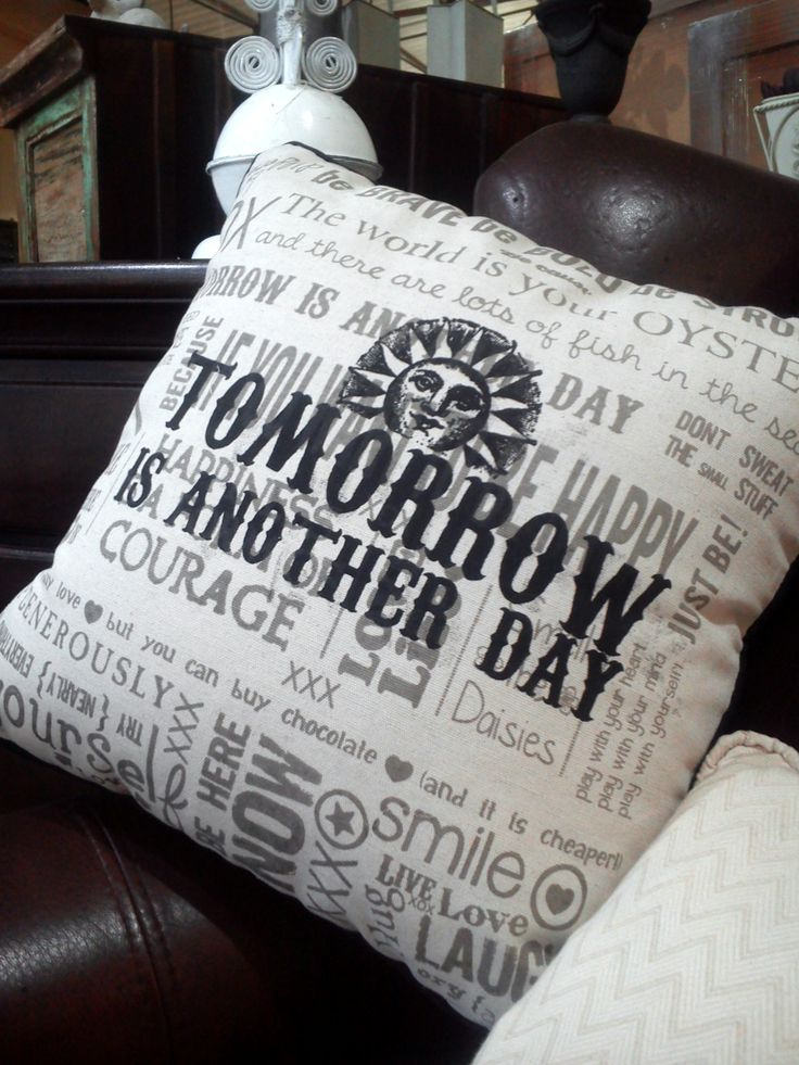 A little Monday motivation from our pillow collection #MondayMotivation #HOFC