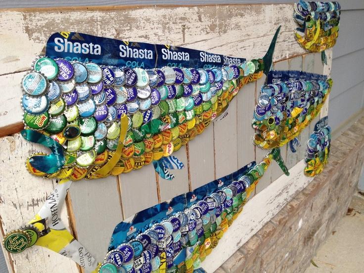 126 best junk folk art images on pinterest bottle cap for Soda caps for sale