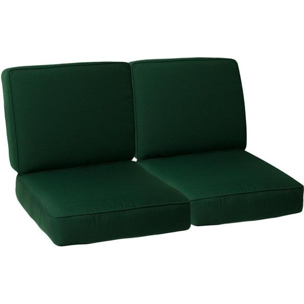UltimatePatio.com Small Replacement Outdoor Loveseat Cushion Set With...  ($319)