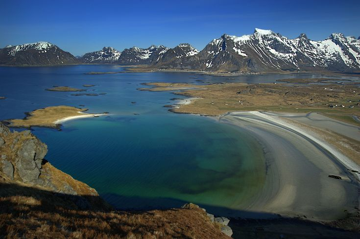 Lofoten is located at the 68th and 69th parallels north of the Arctic Circle in North Norway. It is well known for its natural beauty within Norway