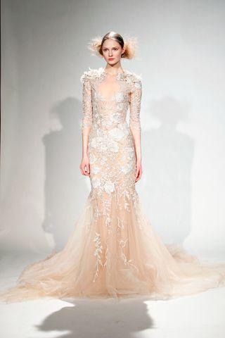 wedding gown ~Marchesa