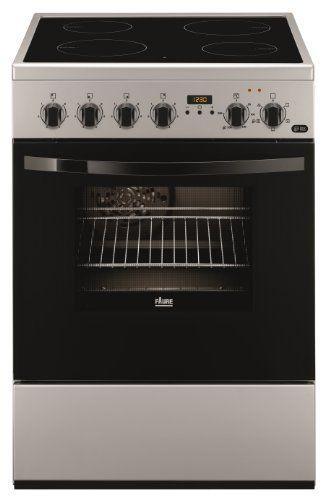 Faure FCV6530CSA cuisinière – fours et cuisinières (Autonome, Electrique, Céramique, verre-céramique, A, Argent): Faure FCV6530CSA. Design…