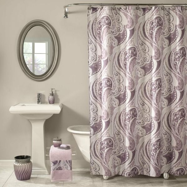Finden Sie Den Passendsten Badezimmer Vorhang. In Großen Und Kleinen  Badezimmern Kann Der Vorhang Einen Echt Großen Unterschied Ausmachen. Es  Ist Eines .