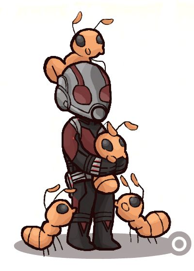 this is what i needed in my life 〖 Marvel Ant Man Scott Lang crazy ant cute 〗