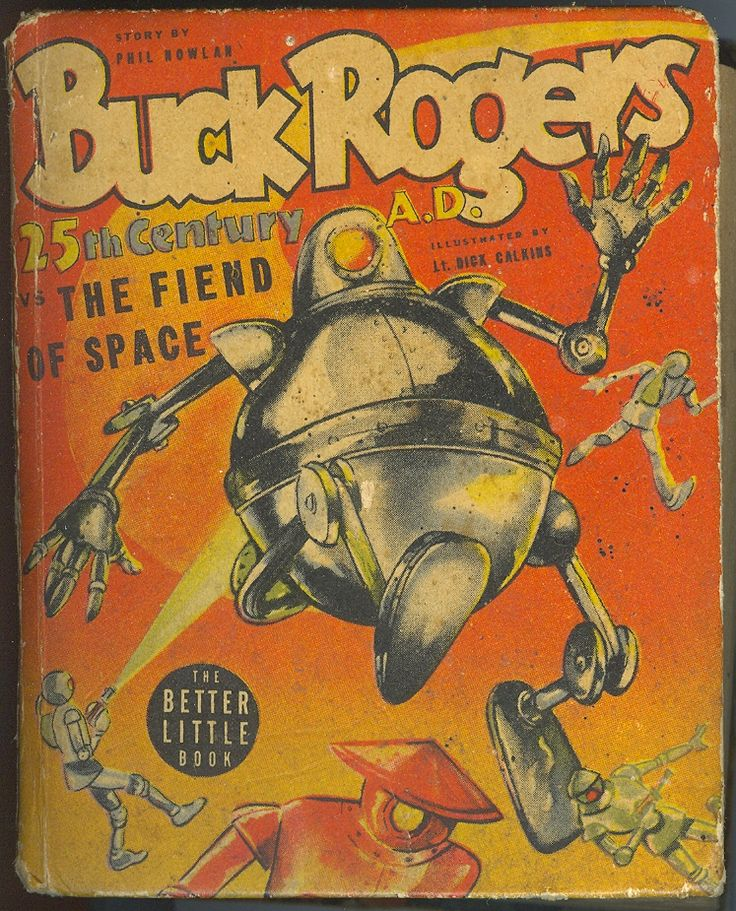 Buck Rogers and The Fiend of Space (Better Little Book)