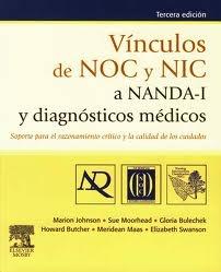 Johnson M, Moorhead S, Bulechek G, Butcher H, Maas M, Swanson E. Vìculos de NOC y NIC a NANDA-I y diagnósticos médicos: soporte para el razonamiento crítico y la calidad de los cuidados. 3a.ed. Barcelona: Elsevier; 2012.