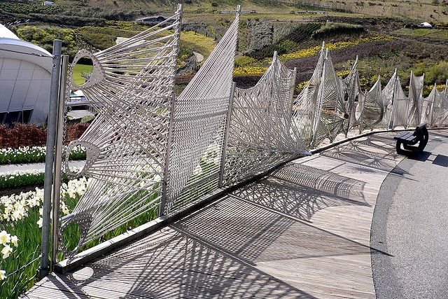 fences made from rope | Rope Fence | Flickr - Photo Sharing!