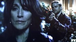 *This* is what we've been waiting for all year! Even though I knew it had to happen, I still didn't want it to!! ♊️ #SOA #Gemma #Jax #FinalRide #RedRose