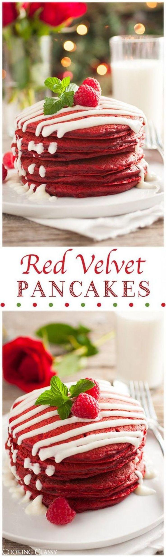 2.  Red Velvet Pancakes!