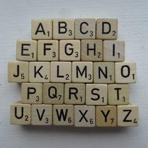 Nu weet je hoeveel punten elke letter is