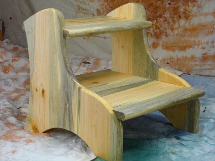 Woodworking for mere mortals step stool