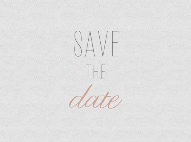 Save The Date. A short stop motion video I created for our Save the Date.