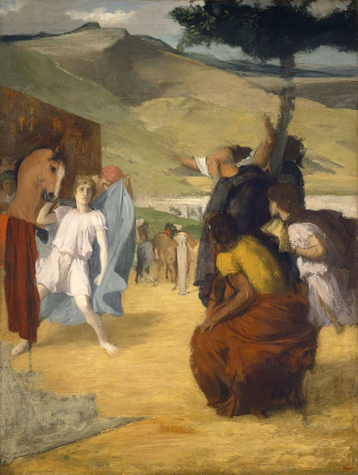 Young Alexander of Macedonia And Bucephalus by Edgar Degas - Ancient Greek kingdom, Alexander the Great Greek king, northern Greece