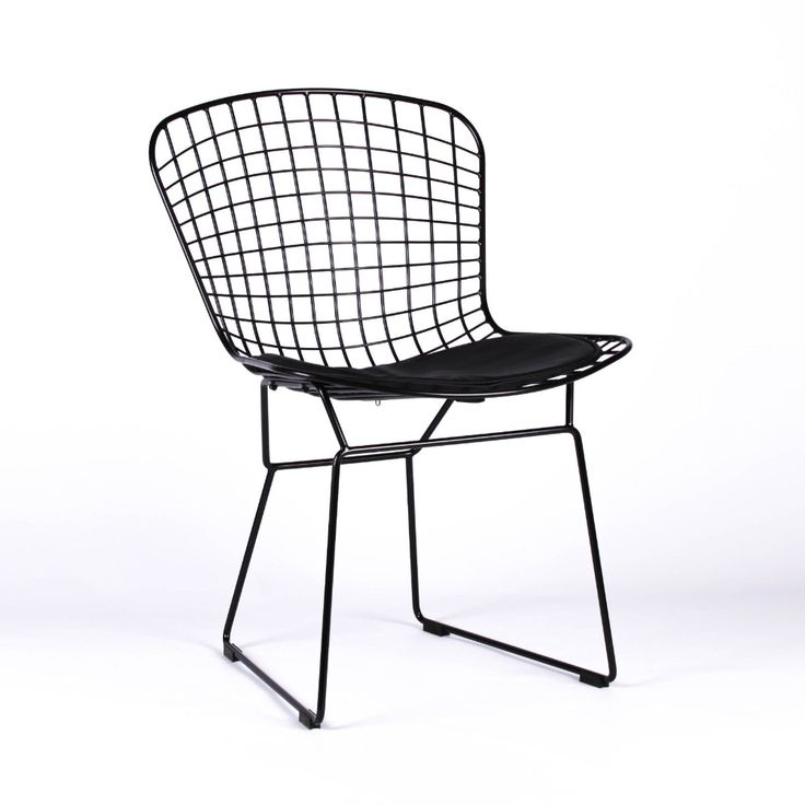 Black Mesh Wire Dining Chair in 2020 | Wire dining chairs ...