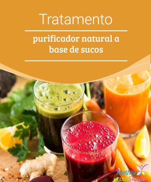Tratamento purificador natural a base de sucos  O método da sucoterapia a cada dia vem ganhando muitos seguidores, pois se acredita que o consumo de sucos de naturais ajuda