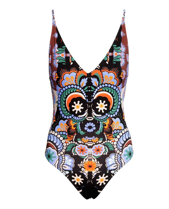 Bañador de prit abstracto de H&M, 29,99 eurs