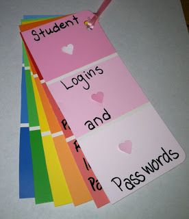 Little Treasures: Monday Made It - Paint Chips - Help This would be a cute thing to carry around to remember locker combinations on the first week of school...
