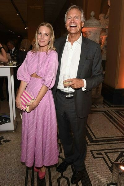 South Kensington 23rd June 2016 The V&A  Party Alice Naylor-Leyland and Charles Delevingne