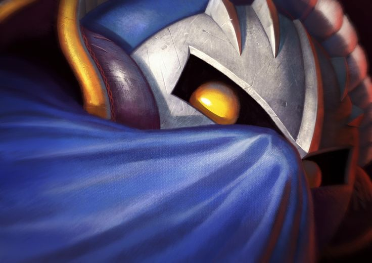 Meta Knight!by Alexandre Leoni | Holy crap this looks fantastic!!!!