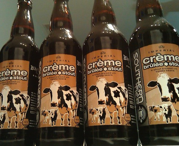 Best Milk Stout in the world. Creme Brulee Stout by Southern Tier.