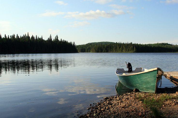 ALBERTA   Lesser Slave Lake in northern Alberta, Canada