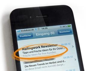 Pre-Header verlängern die Betreffzeile einer E-Mail