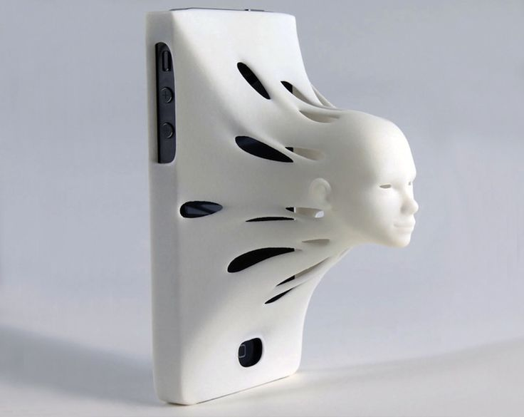 Creepy iPhone Case Forces You to Interact with Siri. Designed and sold by 3D printing company Shapeways, the Siri case retails for $90.