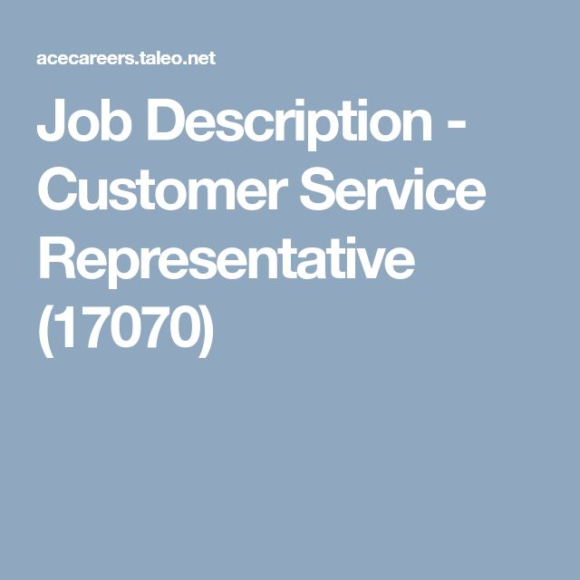 25+ unique Customer service representative ideas on Pinterest - landman resume example
