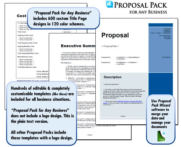 Best Proposal Templates  Plans Images On   Business