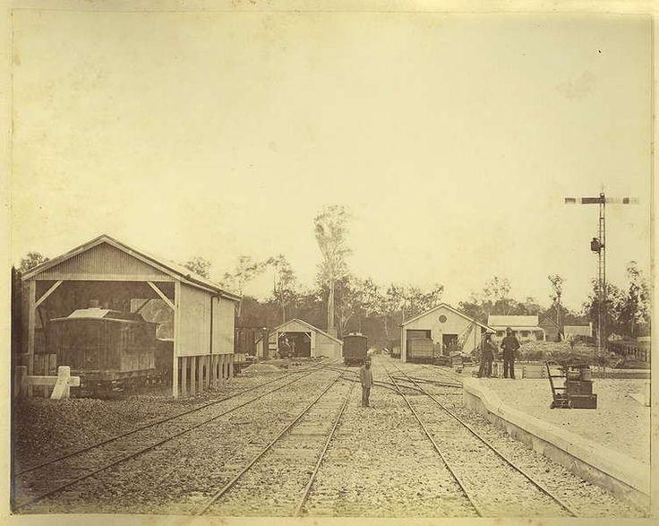1882 Gympie Railway Yard