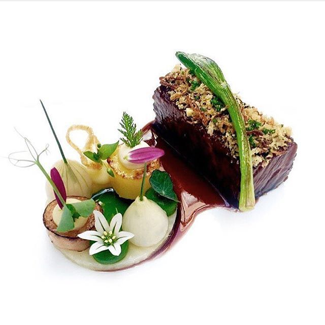 Wagyu short ribs, celery, onions, & leeks. ✅ By - @janhartwig_atelier ✅  #ChefsOfInstagram www.ChefsOF.com  JOIN US!!!