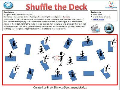 Shuffle the Deck: Card Warm- Up