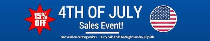 4th of July Sales Event at Wicker Paradise! 15% Off #Sale #Wicker #Furniture #Coupon www.wickerparadise.com