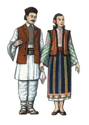 Национальные костюмы молдавии в картинках
