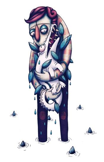 Character Illustration - by Louis Minnaar