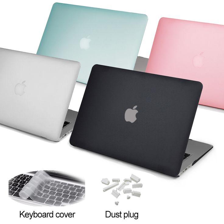 2016 new matte túi laptop case bìa đối apple mac book air pro retina 11 12 13.3 15 inch cho macbook pro 13 case với touch thanh