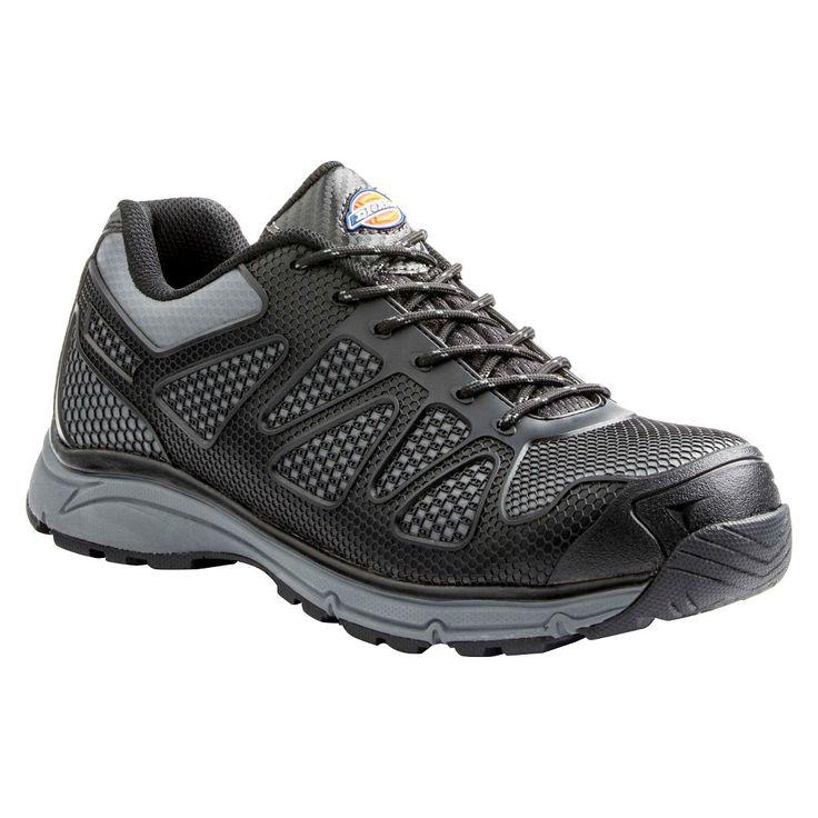 Men's Dickies Fury Work Boots - Black /Grey 10.5