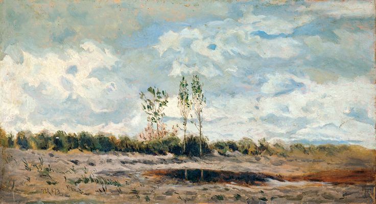 Aukció: 2016. december 13.: Mészöly Géza; Balatoni táj, 1873; olaj, karton